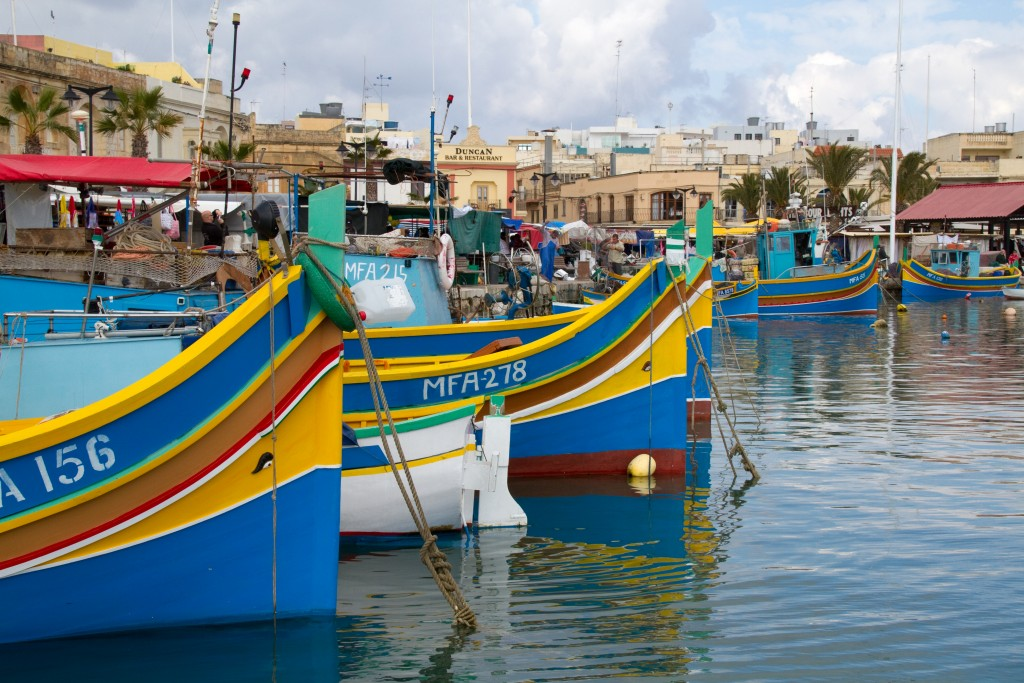 Les bateaux de Marsaxlokk, Malte, Que faire à Malte