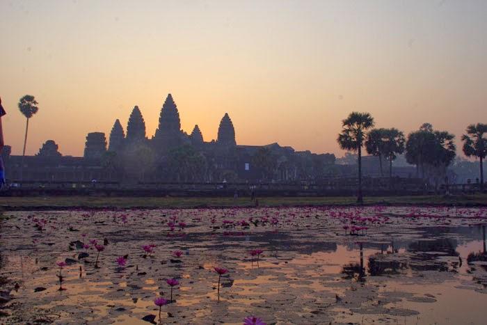 Voyage en Cambodge: Temple d'Angkor