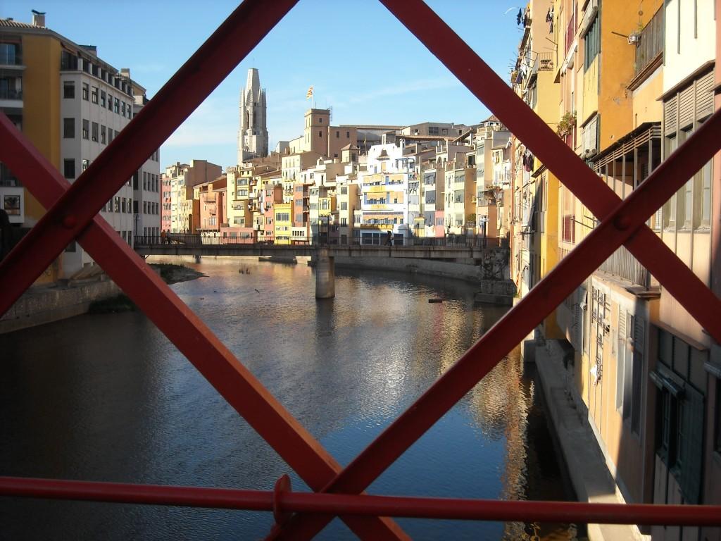 Pont Eiffel, Gérone, Girona, Visiter la Catalogne, road trip catalogne, itinéraire catalogne