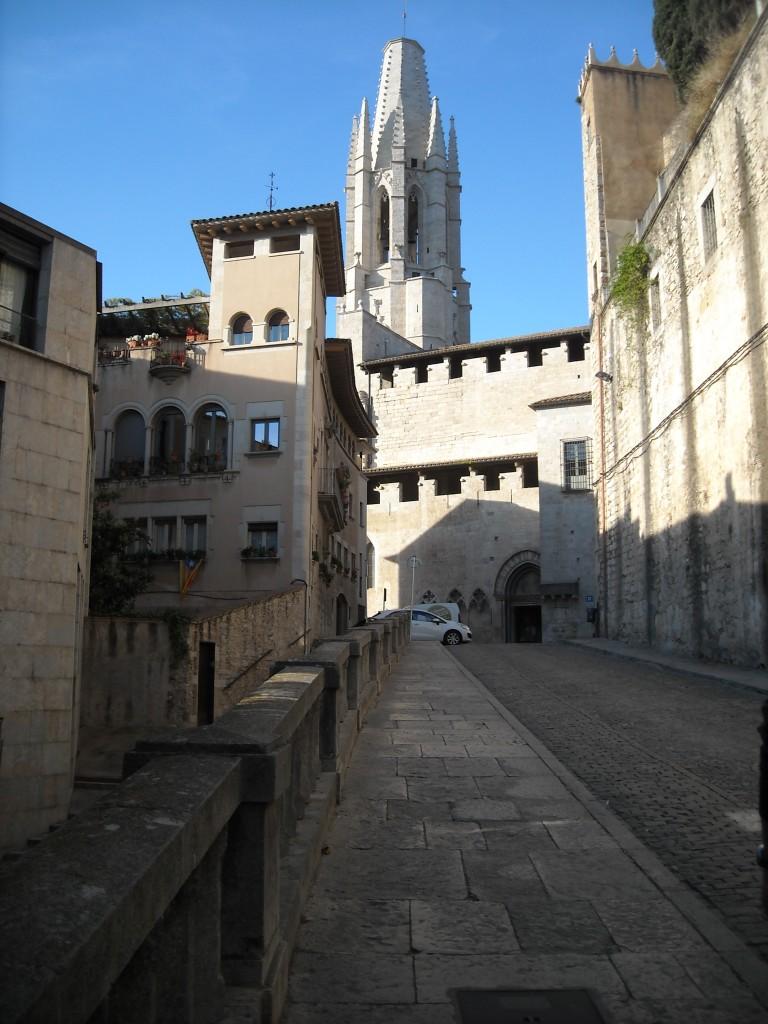 Eglise Saint-Felix , Gerone, La cathédrale Sainte-Marie de Gérone, Girone, visiter la catalogne