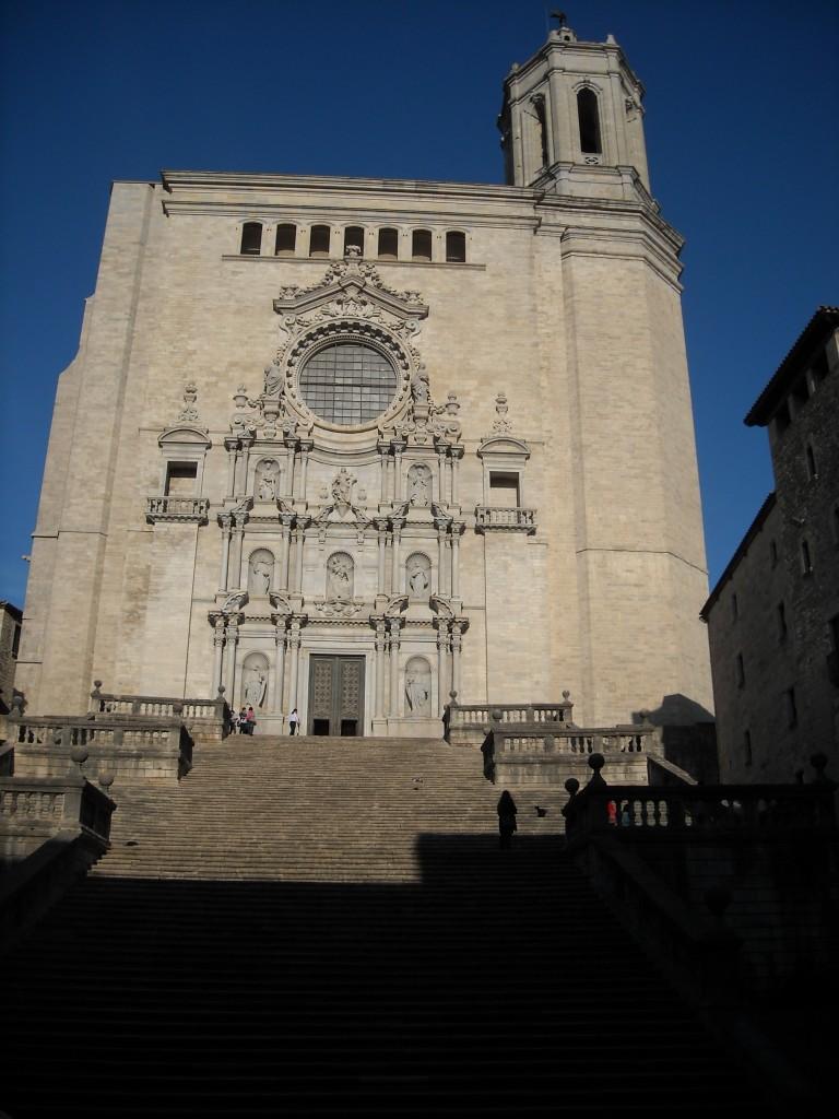 La cathédrale Sainte-Marie de Gérone, Girone, visiter la catalogne