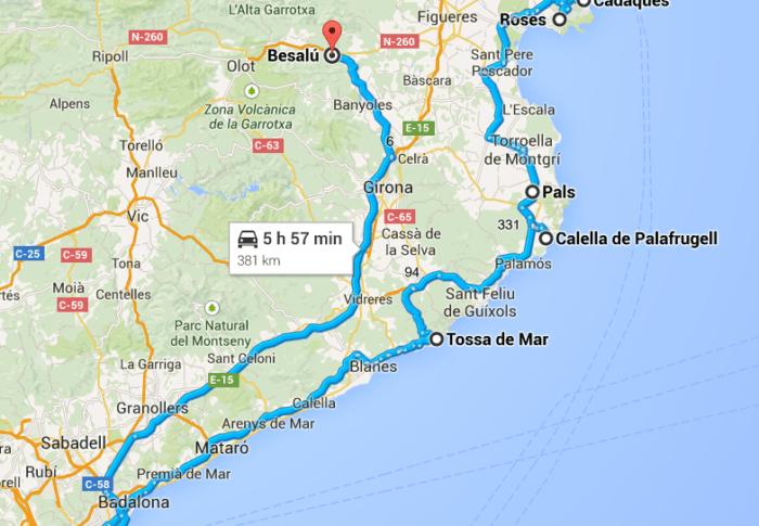 Road Trip en Catalogne: que voir en Catalogne