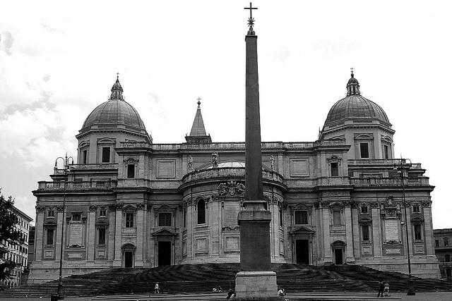 Basilique Sainte-Marie-Majeure à Rome