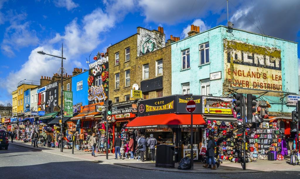 Camden Town, marché de Camden, London, Londres, Que faire à Londres en 2 jours