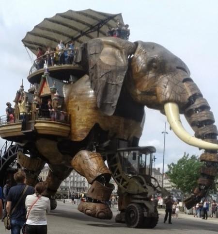 L'éléphant à Nantes
