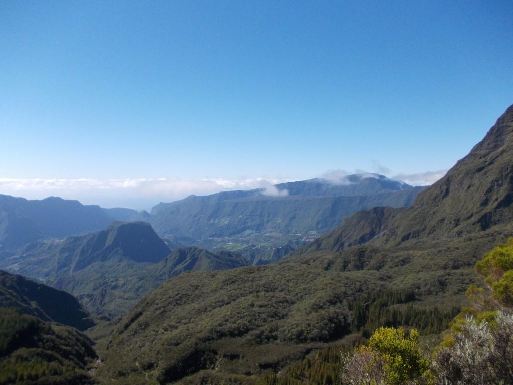 Reunion Mountain, Travel, Leaving