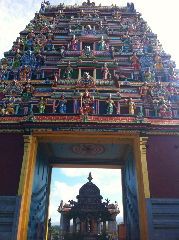 Tamil Temple to Reunion, travels