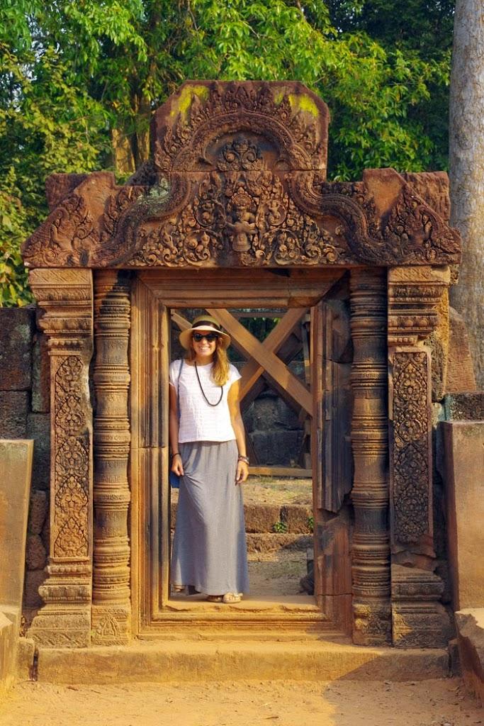 Coralie: voyage en Cambodge