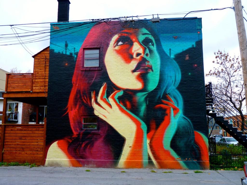 Arte di strada di Montreal