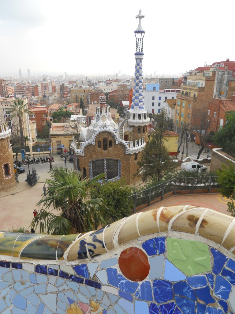 Barcelone, Parc Guell, catalogne