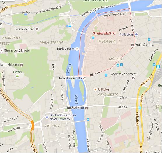 La Città Vecchia, ponte Carlo, Praga, immagini Praga, P rague, foto Praga
