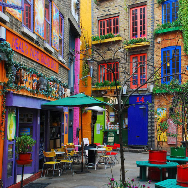 Neal's Yard, London, London, What to do in London in 2 days