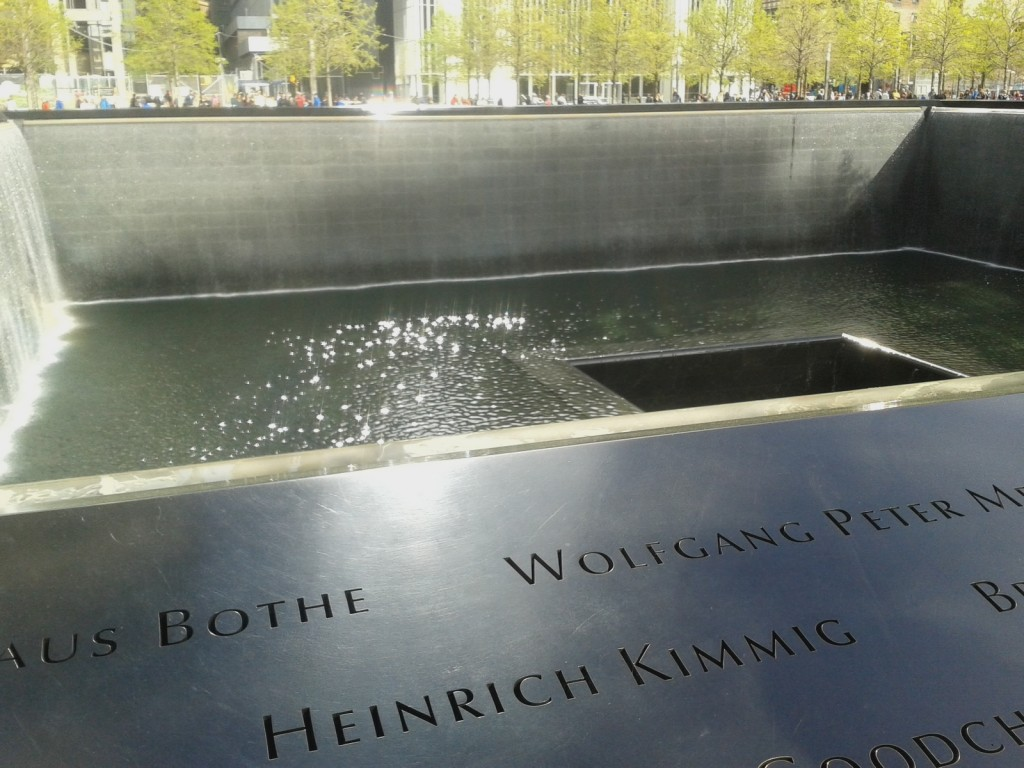 Ground Zero Memorial, New York, Torri Gemelle
