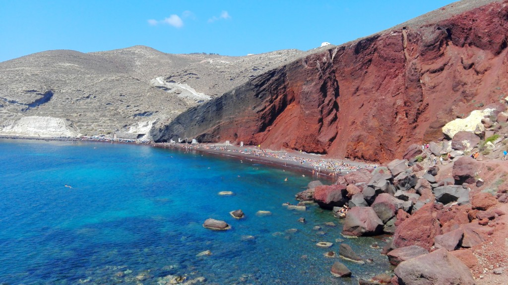 Red beach, Santorin, Santorini, Que faire à Santorin